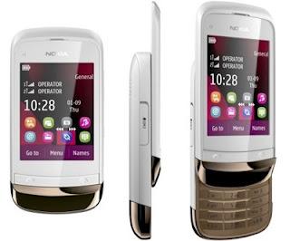 Nokia C2-03 Harga dan Spesifikasi