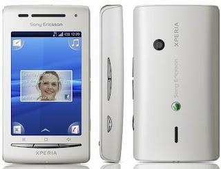 Sony Ericsson Xperia X8 Harga dan Spesifikasi