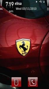 Download Tema Ferrari Untuk Ponsel Nokia dan Symbian OS (Ferrari Theme)