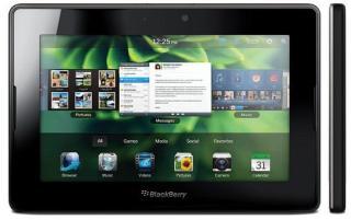 Harga Dan Spesifikasi BlackBerry PlayBook 4G Terbaru