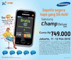 Spesifikasi dan Harga Samsung Champ C3312 Deluxe Duos